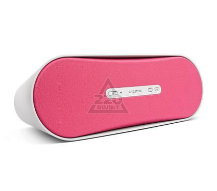 Портативная Bluetooth-колонка CREATIVE D100 беспроводная розовая