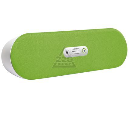 Портативная Bluetooth-колонка CREATIVE D80 беспроводная зелёная