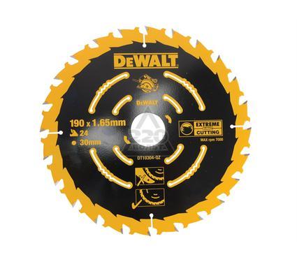 Круг пильный твердосплавный DEWALT DT10304-QZ