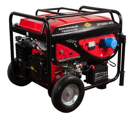 Бензиновый генератор DDE DPG6501E-ATS