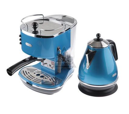 Чайник DELONGHI KBO2001.B + Кофеварка DELONGHI ECO 310.B