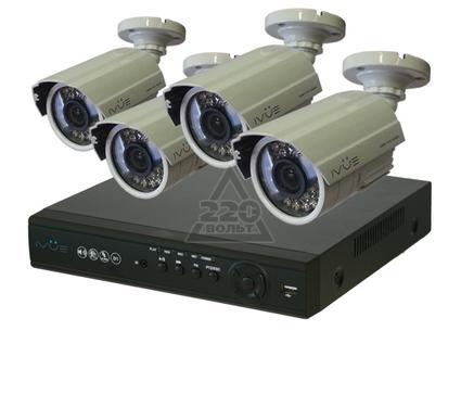 Комплект видеонаблюдения IVUE 6804VHK-CB15-CM6030