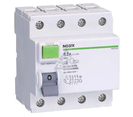 УЗО NOARK Ex9CL-N 4P 40A