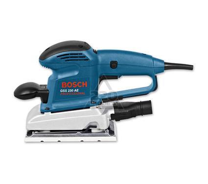 Машинка шлифовальная плоская (вибрационная) BOSCH 601292670 GSS 230 AE