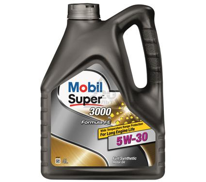 Масло моторное MOBIL SUPER 3000 X1 FORMULA FE 5W-30 (кан4л) (синтетическое)