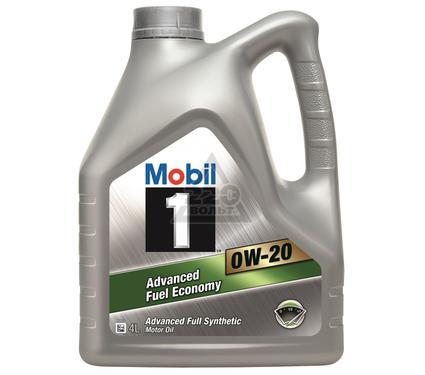 Масло моторное MOBIL 0W-20 (кан4л) (синтетическое)