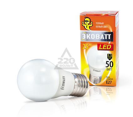 ����� ������������ ECOWATT P45 230� 5.3(50)W 2700K E27