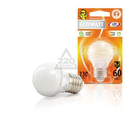����� ������������ ECOWATT P45 230� 6.2(60)W 2700K E27