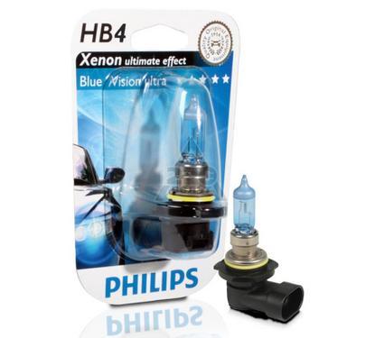 Лампа автомобильная PHILIPS 9006BVUB1 (бл.)