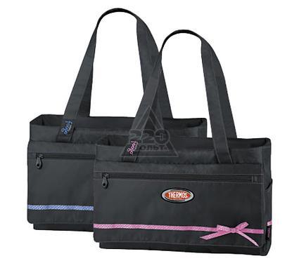 Сумка-холодильник THERMOS Foogo large Diaper Fashion Bag черная/голубая