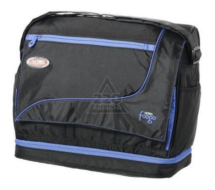 Сумка-холодильник THERMOS Foogo large Diaper Sporty Bag черная/голубая