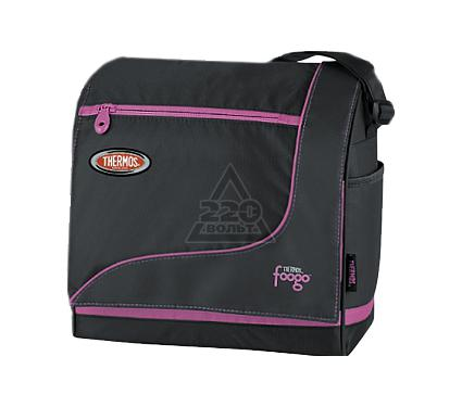 Сумка-холодильник THERMOS Foogo large Diaper Sporty Bag черная/розовая