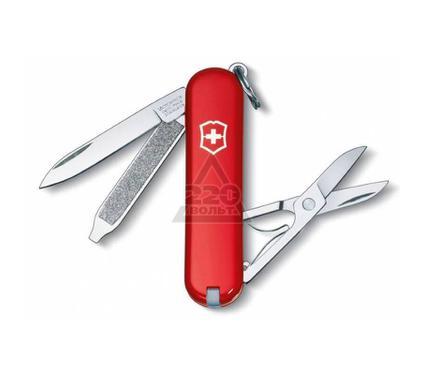 Нож-брелок VICTORINOX Classic красный (0.6223)
