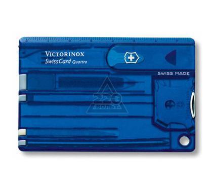 Швейцарская карточка VICTORINOX SwissCard Quattro Sapphire (0.7222.T2)