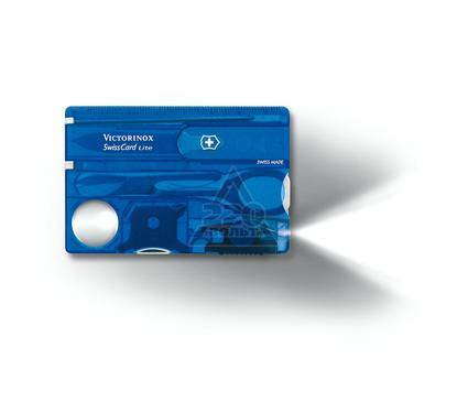Швейцарская карточка VICTORINOX SwissCard Lite Blue (0.7322.T2)