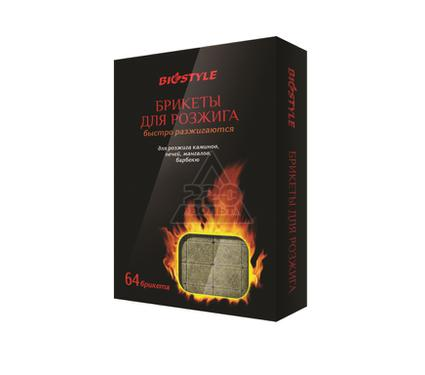Брикеты для розжига BIOSTYLE 64 кубика