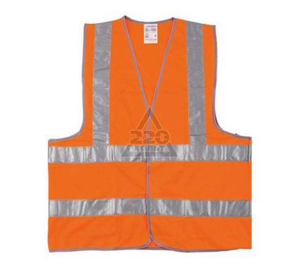 Жилет NEWTON оранжевый 4 полосы