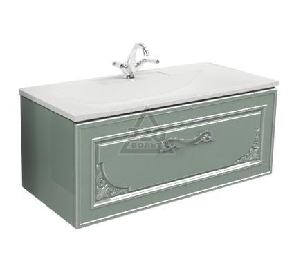 Раковина с тумбой EDELFORM Регале 100 Прима 1000 серебряный меланж