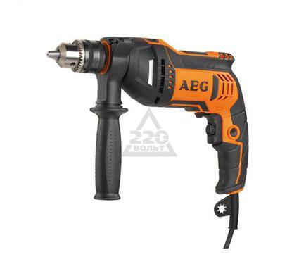 Дрель ударная AEG SBE 750 RZ
