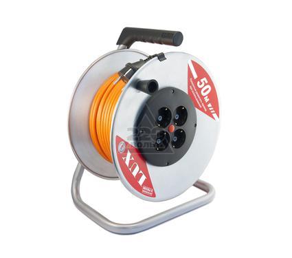 Удлинитель LUX 40150 К4-Е-50 ПВС