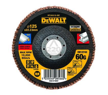 Круг Лепестковый Торцевой (КЛТ) DEWALT DT30612-QZ
