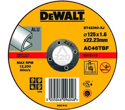 Круг отрезной DEWALT DT42360-XJ