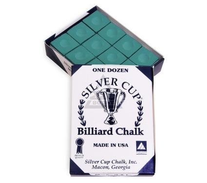 Мел SILVER CUP Green 12шт.