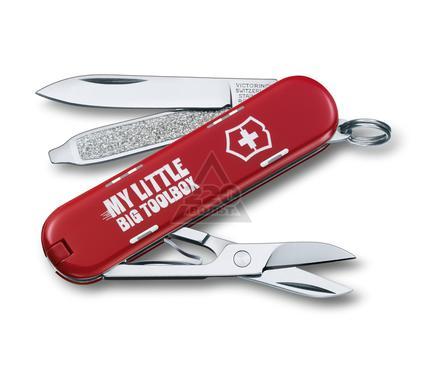 Нож-брелок VICTORINOX Classic LE 2014 ''My little big toolbox'' 0.6223.L1404
