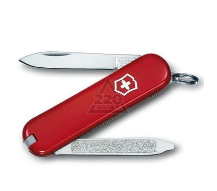 Нож-брелок VICTORINOX Classic Escort красный 0.6123