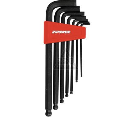 Набор шестигранных ключей ZIPOWER PM4162
