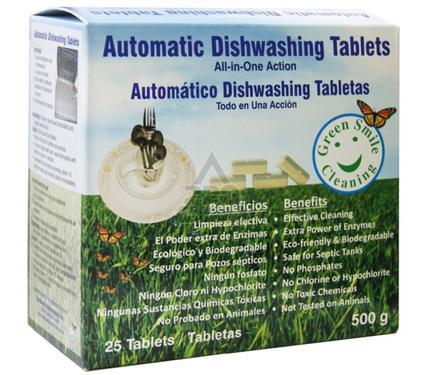 Таблетки GREEN SMILE Automatic Dishwashing Tablets