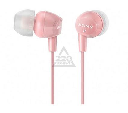 Наушники-вкладыши SONY MDR-EX10LP/P розовый