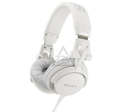 Наушники полноразмерные SONY MDR-ZX110/W белый