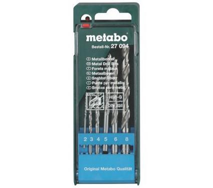 Набор сверл METABO 627119000