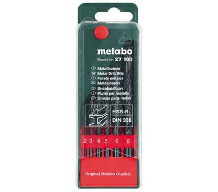 Набор сверл METABO 627160000
