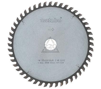 Круг пильный твердосплавный METABO 628072000
