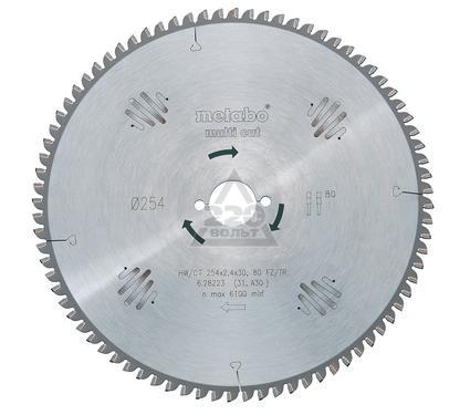 Круг пильный твердосплавный METABO 628075000