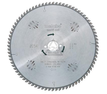 Круг пильный твердосплавный METABO 628079000