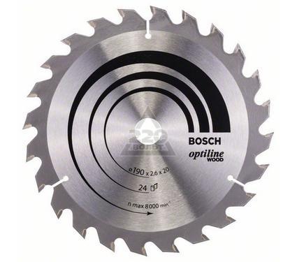 Круг пильный твердосплавный BOSCH 2608640612