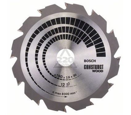 Круг пильный твердосплавный BOSCH 2608640633