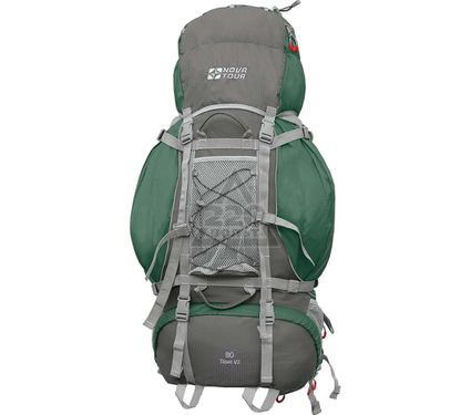 Рюкзак NOVA TOUR Тибет 80 V2 Серый/зеленый