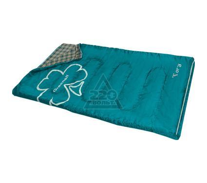 Спальный мешок GREENELL Тори Зеленый Левый