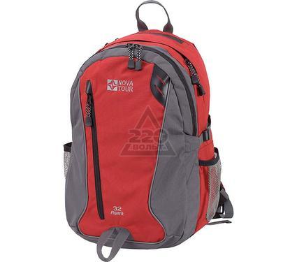 Рюкзак для ноутбука NOVA TOUR Агент 32 V2 Серый/красный