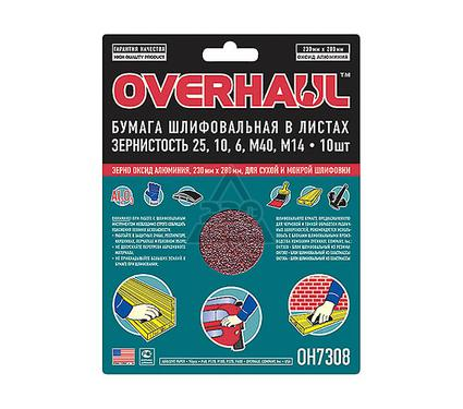 Лист шлифовальный OVERHAUL OH7308