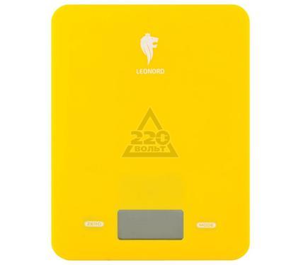 Весы кухонные LEONORD LE-4011 (желтые)