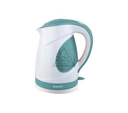 Чайник ENERGY E-204 бело-зеленый