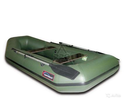 Лодка HUNTERBOAT Хантер 280 серая
