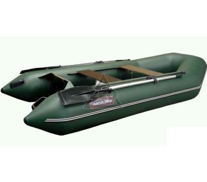 Лодка HUNTERBOAT Хантер 290 ЛН зеленая