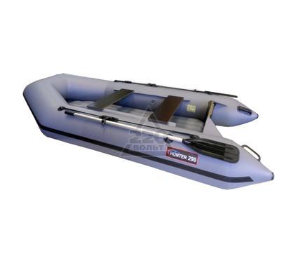 Лодка HUNTERBOAT Хантер 290 ЛН серая