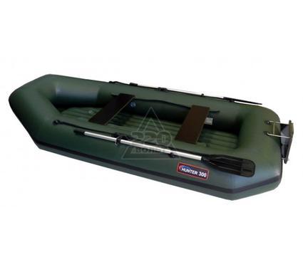 Лодка HUNTERBOAT Хантер 300 ЛТН зеленая